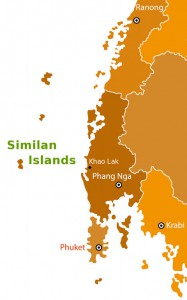 where-are-the-similan-isands