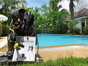 scuba beginner training