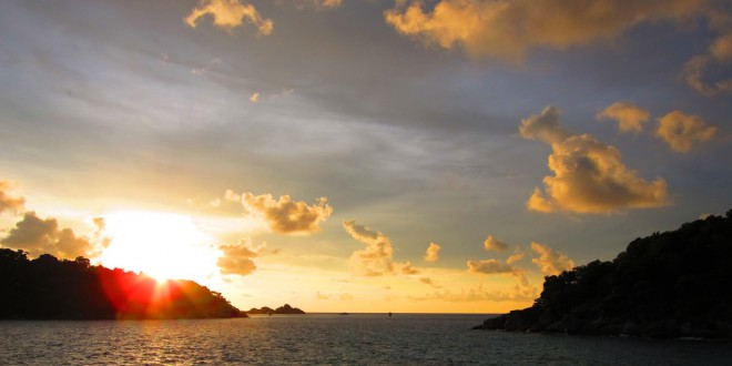 Hideaweay Bay Sunset
